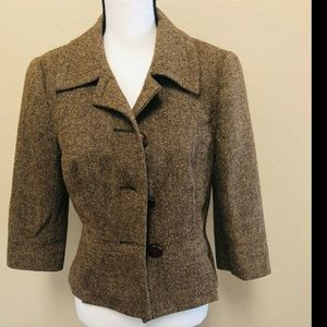 Trina Turk Women's Jacket wool  Blazer Coat Size 8